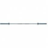 Bar for Ladies, length 185 cm, weight 16 kg, chrome, suitable for bench presse up to 150 kg. - for fitness and weightlifting