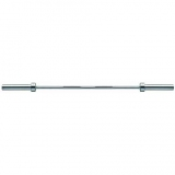 Bar for Juniors, length 160 cm, Ni-P, weight 15 kg, suitable for bench presses up to 150 kg. - for fitness and weightlifting