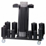 Sets rack Mobile - for fitness training