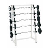 Barbell rack for wall fixing - for fitness and weightlifting