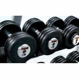 Dumbbell set, rubber, 2-40 kg - for fitness and weightlifting