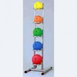 Medicine balls rack for 5 -  for fitness training