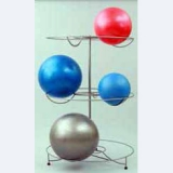 Gym balls rack without balls -  for fitness training