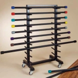Body bars practical rack (without bars) with 20 storages - Inventory for fitness