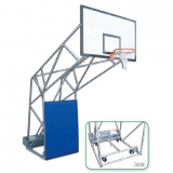 Basketball backboards, Olympic, with ballast box
