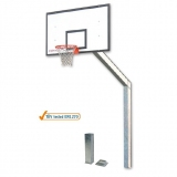 Basketball backboards, monotubular - acc. to EN1270 standard.