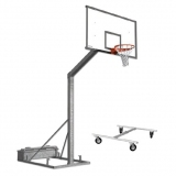 Basketball backboards, monotubular
