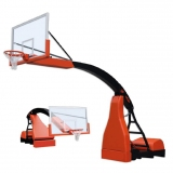 Basketball backboards, mobile on wheels, Hydroplay ACE portable - FIBA approved for 1st level