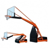 Basketball backboards, mobile on wheels, Hydroplay 2.0 - FIBA approved for 1st level