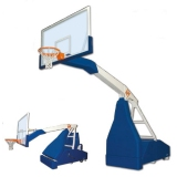Basketball backboards, mobile on wheels, Easyplay Training - FIBA approved for 3rd level