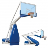 Basketball backboards, mobile on wheels, Hydroplay Training portable - FIBA approved for 3rd level