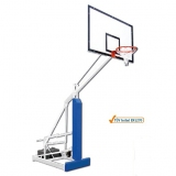 Basketball backboards, mobile on wheels, Easyplay College portable - acc. to EN1270 standard