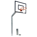 Mini-basketball backstop