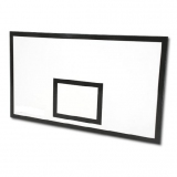 Basketball backboard for indoor use