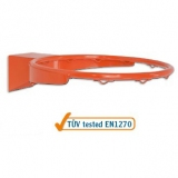 Basketball ring, standard, varnished steel - heavy reinforced model - acc. to EN1270 standard