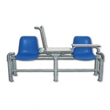 Soccer referees seating element