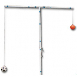 Soccer Ball heading practice stand