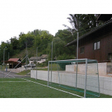 Soccer fields Protective boundary net