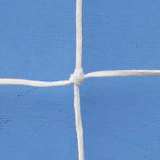 Futsal goals nets, made of polyethylene