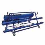 Trolley for volleyball posts