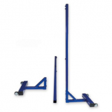Freestanding minivolley posts