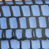 Tennis posts net Professional, polyethylene, diameter 4 mm knotted