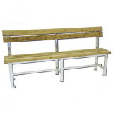 Tennis court bench, 200 cm, wooden