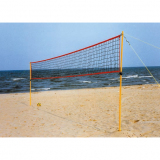 Beach volleyball full set, transportable on bag