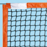 Beach tennis net, made of nylon with PVC border