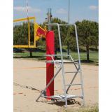 Beach volleyball referee platform