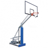 Streetball backstop Easyplay College, portable, mobile on wheels - acc. to EN1270