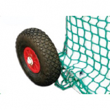 Field hockey goals rubber wheels