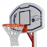 Multipurpose recreational plastic backboards - for multiporpose stands S05206