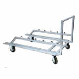Hurdles trolley - for athletics track events