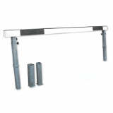 Steeplechase barrier, 366 cm long, adjustable height
