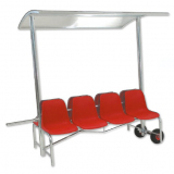 Mobile athletes double bench