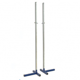 High jump training stand, height adjustable up to 200 cm