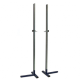 High jump training stand, height adjustable up to 230 cm