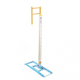 Pole vault competition stand, height adjustable up to 650 cm - IAAF approved