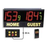 Scoreboard Play 30-V, dimensions 85x40 cm, remote control