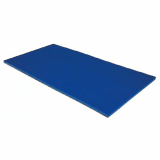 Gym Mat 200x100x4 cm, high density polyethylene, slip-proof bottom side