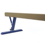 Training balance beam, aluminium, adjustable height 80-120 cm