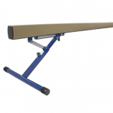 Competition balance beam, aluminium, adjustable height 80-120 cm - acc. to FIG rules