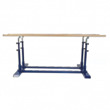 Parallel bars, adjustable in height and width