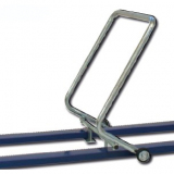 Parallel bars trolley