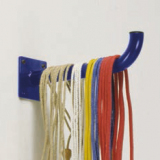 Gymnastic skipping ropes wall rack
