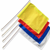 Set of referee flags water polo