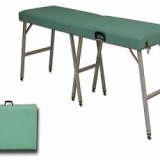 Foldable examination and massage couch