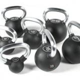 Rubber kettlebells, 4 kg
