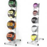 Medicine ball standing rack